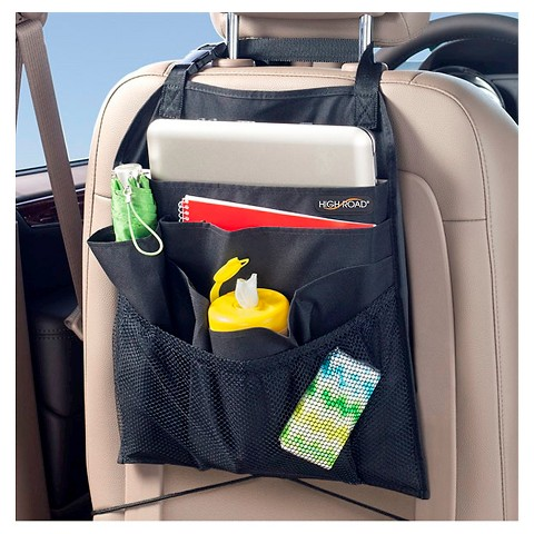 High Road Back Seat Organizer - Black