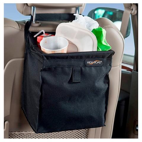 High Road Auto Black Litter Bag