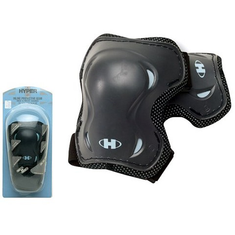 Hyper Knee and Wrist Guards - Black