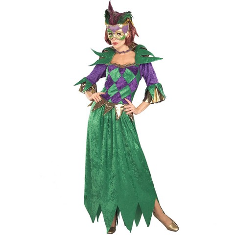 Women's Mardi Gras Madness Costume - One Size Fits Most