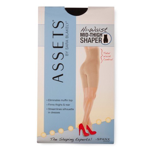ASSETS® by Sara Blakely a Spanx® Brand Women's High-Waist Mid-Thigh Shaper 166B