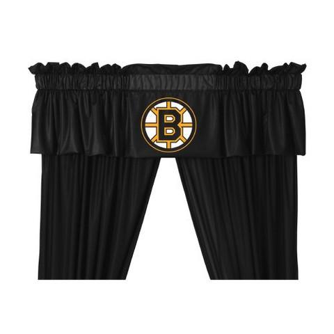 Boston Bruins Valance