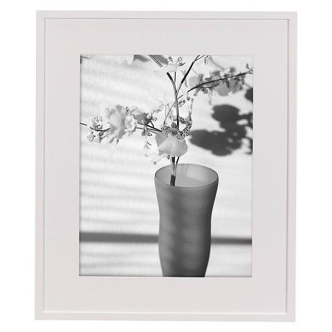 Hampton Contours Frame - White 11x14