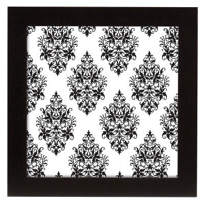 Flat Oversized Square Frame - Black 12x12