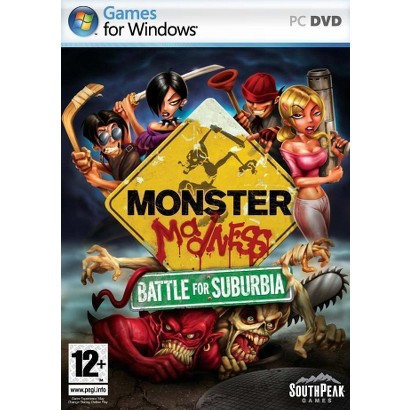 Monster Madness: Battle for Suburbia (PC Games)