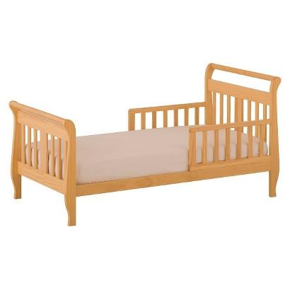 StorkCraft Soom Soom Toddler Bed - Natural