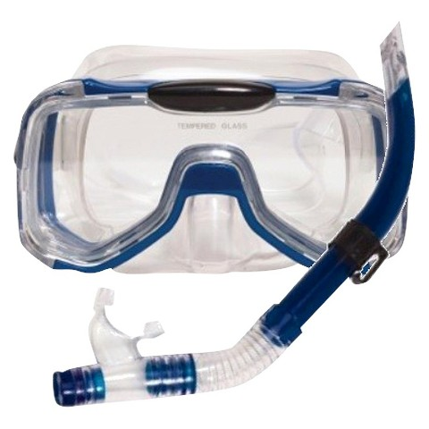 Poolmaster Mondeo Pro Swim Mask and Snorkel Set