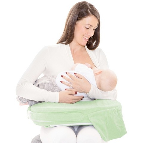 My Brest Friend Deluxe Nursing Pillow - Green