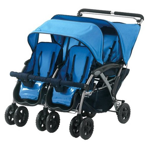 double triple quad strollers
