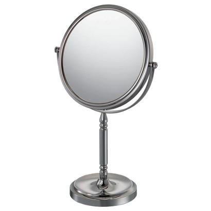"Mirror Image Recessed Base Vanity Mirror 7.75"" Chrome"