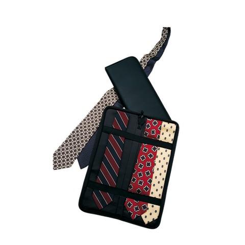Household Essentials Tie Case - Black
