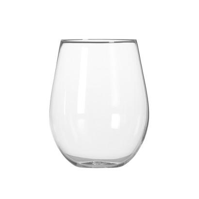 The Wine Enthusiast U Wine Tumbler Merlot Glasses Set of 2