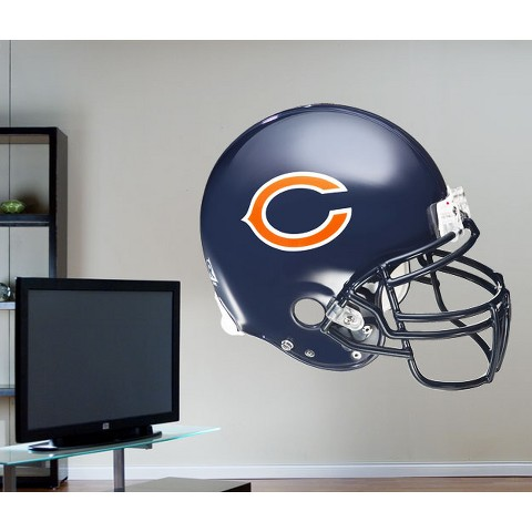 Fathead Chicago Bears Helmet Wall Decal