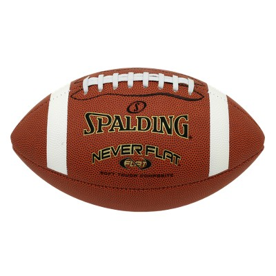 Spalding NEVERFLAT football official size
