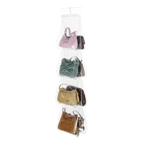 Handbag File Clear/White