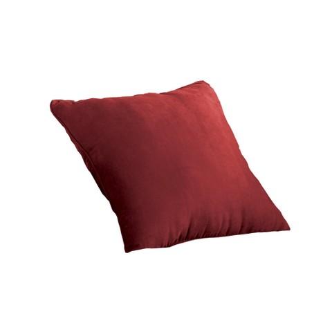 Sure Fit Suede Pillow