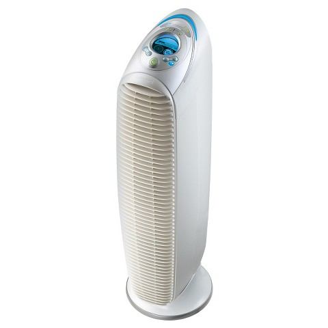 Honeywell 5-in-1 True HEPA Tower Air Purifier with UV Allergen Remover - White