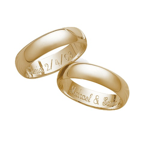 Sterling Silver Band over Gold