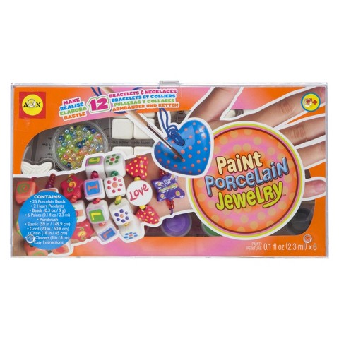 Alex Paint Porcelain Jewelry Making Kit