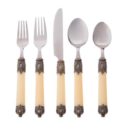 Hampton Forge Ltd. San Remo 20-pc. Flatware Set - Cream