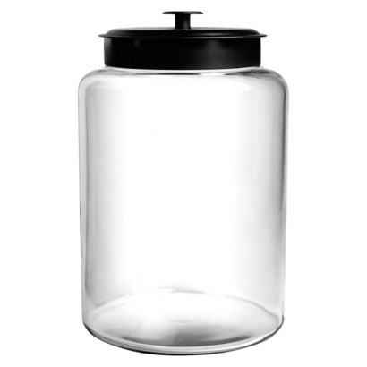 Montana Canister with Black Lid - 2.5 gal.