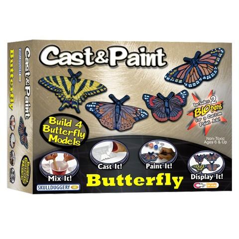 Cast & Paint Butterfly