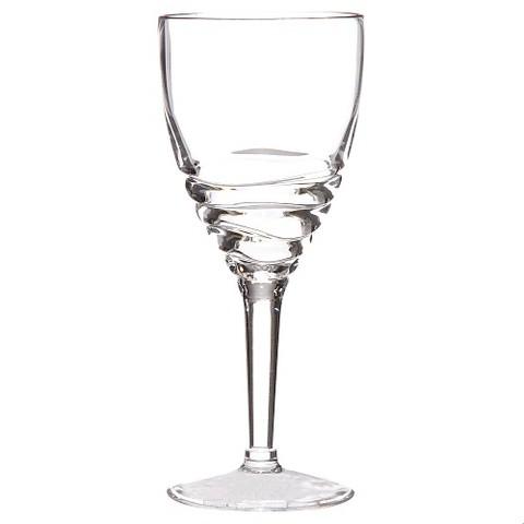Acrylic Swivel Wine Glasses Set of 4 - Clear