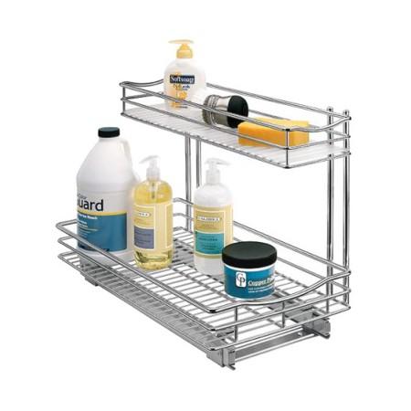 lynk professional roll out under sink cabinet organizer. Black Bedroom Furniture Sets. Home Design Ideas