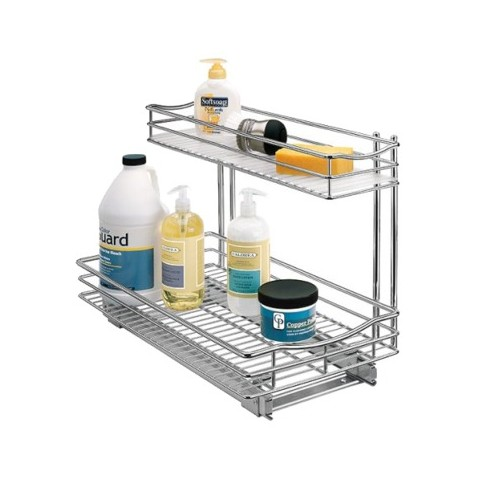"""Lynk Professional Kitchen Under-Sink Rollout Double Drawer - 11x21"""""""