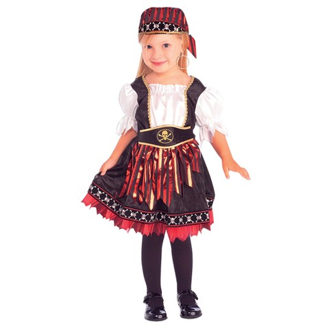 Toddler/Girl's Lil' Pirate Cutie Costume