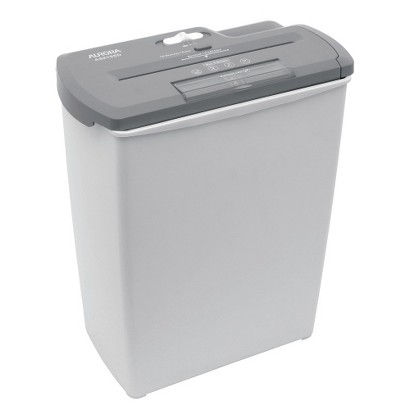 Aurora 8-Sheet Strip Cut Paper Shredder - AS810SD