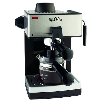 Mr. Coffee® Steam Espresso & Cappuccino Maker - ECM160-NP