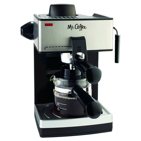 Mr. Coffee® Steam Espresso & Cappuccino Maker, ECM160-NP