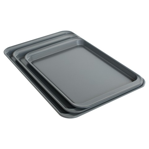 Room Essentials™ 3pc Cookie Sheet Set - Silver