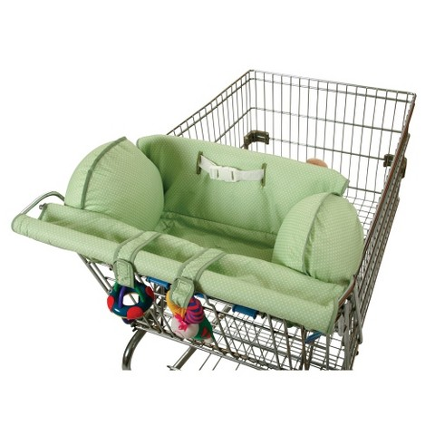 Leachco Prop 'R Shopper Body-Fit Cart Cover - Green