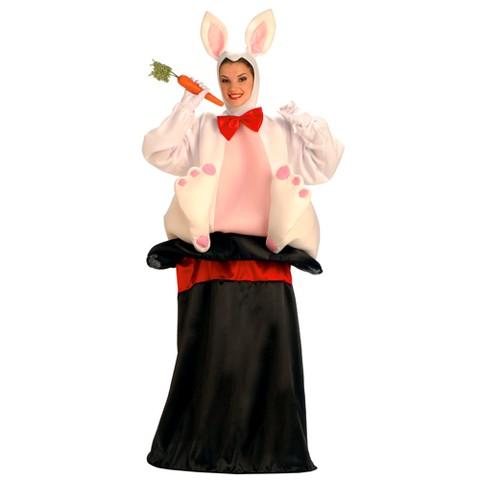 Adult Magic Hat Rabbit Costume - One Size Fits Most