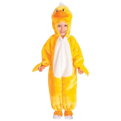 Toddler/Kid's Quackers the Duck Costume