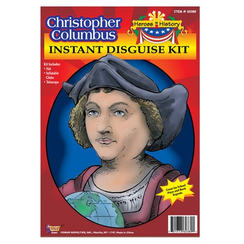 Christopher Columbus History Hero Disguise Kit