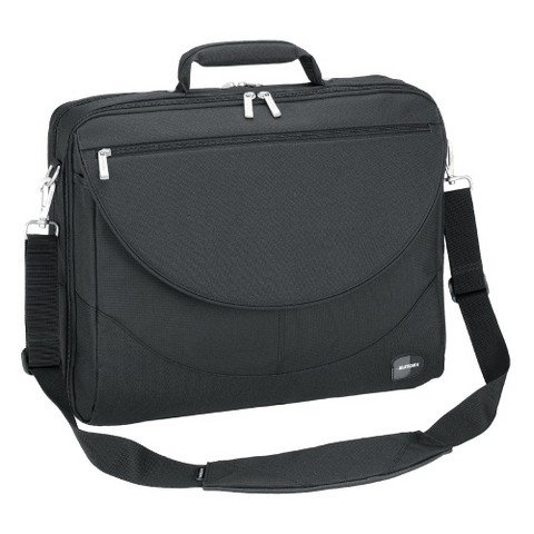 Sumdex Large Expandable 17.3 Computer Briefcase - Black