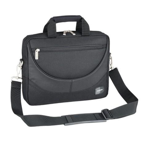 """Sumdex Compact 13.3"""" Laptop Briefcase - Black"""