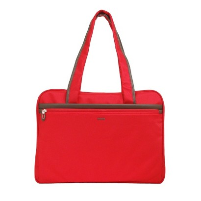 """Sumdex Business 17"""" Laptop Tote Bag - Red"""
