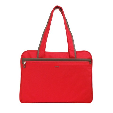 "Sumdex Business 17"" Laptop Tote Bag - Red"