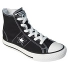 Kid's Converse® One Star® Hi-Top Canvas Lace up Shoe - Black