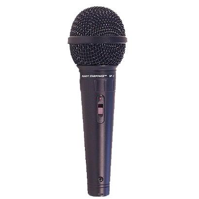 Nady SP-1 Dynamic Microphone - Orange/ Brown