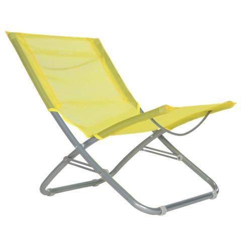 Xscape Sol Lite Folding Beach Chair - Yellow