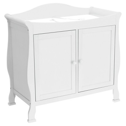 DaVinci Parker 2-Door Changer - Pure White