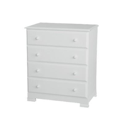 DaVinci Kalani 4-Drawer Dresser - White