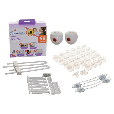 Dreambaby Home Safety Value Kit - 46 Pieces