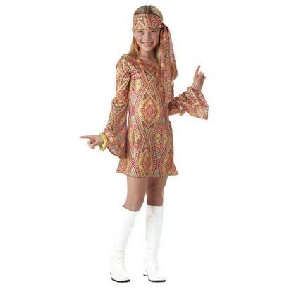 Girl's Disco Dolly Costume