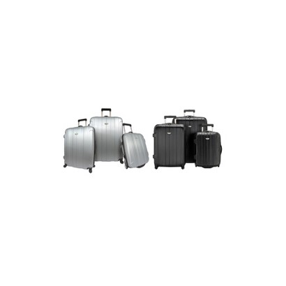 Rome 3-pc. Hard-Shell Spinning/Rolling Luggage Set